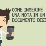 Come inserire una nota in un documento digitale
